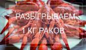 """""""BEERлога"""" разыгрывает 1 кг раков!"""