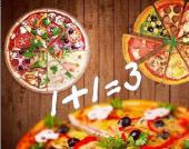 3 пиццы по цене 2-ух в Pizza Smile