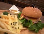 День бургера по средам в BEEloga