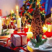 """Новогодняя ночь в кафе """"ПАНОРАМА"""""""